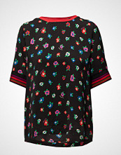 Scotch & Soda Silky Feel Top With Placement Prints