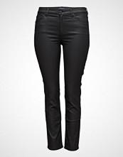Violeta by Mango Coated Slim-Fit Carmen Jeans