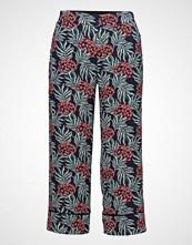 Mango Printed Crop Trousers