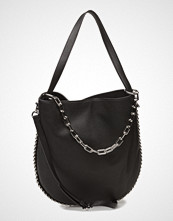 Alexander Wang Roxy Hobo Blk Refined Pebble Calf/Ir