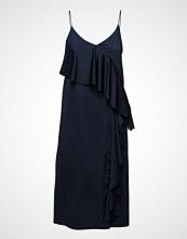 Mango Flowy Ruffled Dress