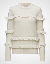 Michael Kors Rib Ruffle Sweater