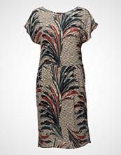 Saint Tropez Feather Printed Woven Dress