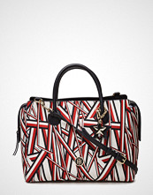 Tommy Hilfiger Charming Tommy Satchel Corp Print
