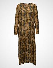 Rabens Saloner Palm Long Dress