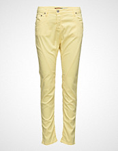 Please Jeans Fine Flap Yellow Cream