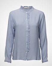 Coster Copenhagen Stripe Shirt W. Front Ruffle