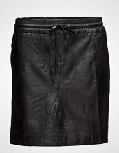 DEPECHE Skirt With Smock Waist