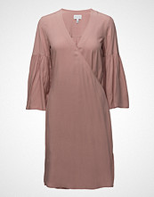 Gant Rugger R2. Wrap Dress Knelang Kjole Rosa GANT RUGGER
