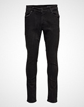 Minimum Ben-Nw Slim Jeans Svart MINIMUM