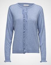 Coster Copenhagen Cashmere Knit Cardigan W. Ruffle Fr