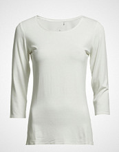 Fransa Kiksen 2 Tshirt T-shirts & Tops Long-sleeved Hvit FRANSA