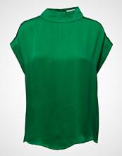 Coster Copenhagen Short Sleeve Top W. High Collar