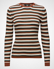 Scotch & Soda Merino Wool Rib Knit Top With Contrast Details