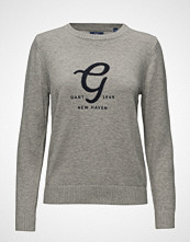 Gant O2. Embroidery Cotton Wool Crew
