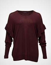 Violeta by Mango Ruffled Detail Sweater