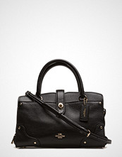 Coach Grain Leather Mercer 24 Satchel