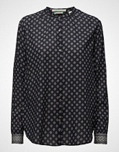 Scotch & Soda Cotton Summer Shirt In Small Prints With Contrast Cuffs