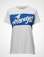 Wrangler Retro Logo Tee White