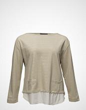 Violeta by Mango Metallic Contrast Sweatshirt