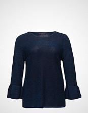 Violeta by Mango Ruffled Metallic Sweater