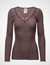 Saint Tropez L/S Top With Lace