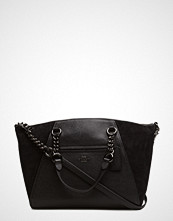 Coach Mixed Leather Chain Prairie Satchel Refresh