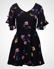 Mango Bow Printed Dress