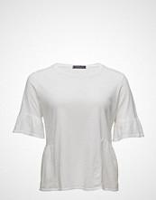 Violeta by Mango Ruffle Cotton T-Shirt