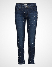 Mango Pearls Straight Jeans