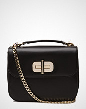 Tommy Hilfiger Turn Lock Crossover Leather