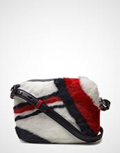Tommy Hilfiger Iconic Camera Bag Leather Fur