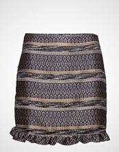 Mango Geometric Embroidery Skirt