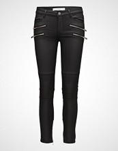Mango Zipper Biker Trousers