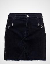 Mango Piercing Detail Corduroy Skirt