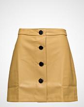 Mango Contrast Buttons Skirt