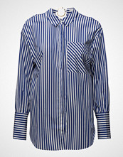 Mango Striped Piercing Shirt