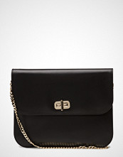 Tommy Hilfiger Turn Lock Leather Pouch
