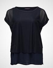 Violeta by Mango Mixed Laser-Cut T-Shirt