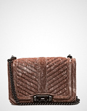 Rebecca Minkoff Chevron Quilted Small Love Crossbody