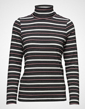 Saint Tropez Mix Striped Rib Turtleneck