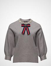 Violeta by Mango Pearl Embroidery Appliqu Sweater