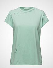Mango Ripped Detail T-Shirt
