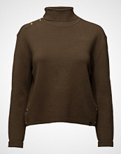 Scotch & Soda High Neck Knitted Sailor Top With Button Details