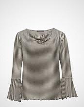 Violeta by Mango Striped Cotton T-Shirt