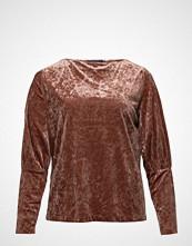Violeta by Mango Puffed Sleeves Velvet T-Shirt