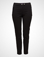 Violeta by Mango Zipped Straight Trousers