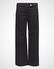 Violeta by Mango Striped Herringbone Trousers