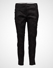 Fiveunits Angelie 325 Split, Black Jacquard, Pants