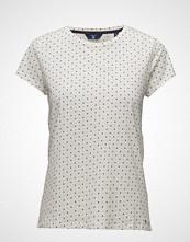 Gant Op2. Allover Dot Printed Ss T-Shirt